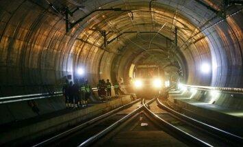 ФОТО: В Швейцарии открыли самый длинный в мире тоннель