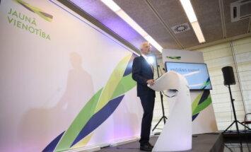 """""""Новое Единство"""" назвало кандидатов на выборы в Сейм: Кариньш и Страуюма не стартуют"""