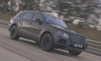 Video: 'Bentley' apvidnieks sasniedz 301 km/h