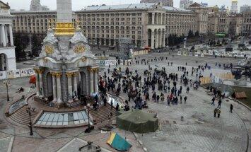Установившие протестный лагерь активисты отказываются покидать Майдан
