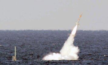 Sīrijas konflikts: Krievija fiksē divu ballistisko 'objektu' startu Vidusjūrā (13:39)