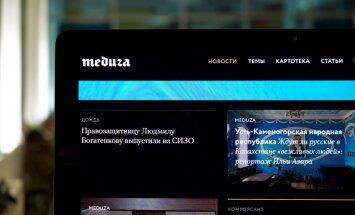Kazahstānā bloķēts Latvijā reģistrētais Krievijas žurnālistu portāls 'Meduza'