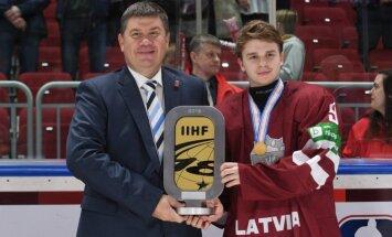 LHF prezidentu Kalvīti pārsteidz pasaules U-18 čempionāta zemais apmeklējums
