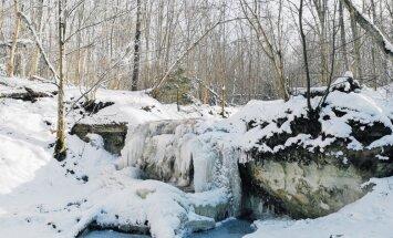 Aizsalis Daudas ūdenskritums – trešais augstākais ūdenskritums Latvijā