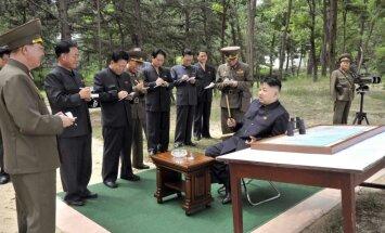 Ziemeļkoreja atjaunojusi ārkārtas telefonsakaru līniju ar Dienvidkoreju