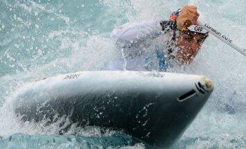 Kanoe airētājam Iļjinam piektā vieta U-23 pasaules čempionātā; smaiļotājs Vilde sestais sacensībās junioriem
