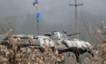 Pie Krasnijlimanas krituši 12 un ievainoti 25 Ukrainas desantnieki