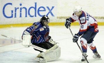 'Liepājas metalurga' hokejisti gada priekšpēdējā cīņā piekāpjas 'Ļida' vienībai