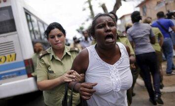 Pirms Obamas vizītes Kubā aizturēti 180 disidenti