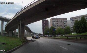 ВИДЕО ОЧЕВИДЦА: Неудачный дрифт на улице Краста