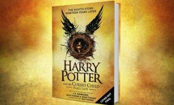 Ar jaunas grāmatas izdošanu Rīgā svinēs Harija Potera dzimšanas dienu