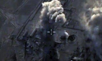 Erdogans Obamu un Putinu aicina Sīrijas ziemeļos ieviest lidojumu aizlieguma zonu