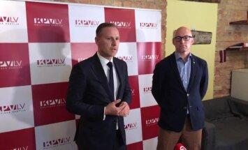 Video: 'KPV LV' un 'Attīstībai/Par!' redz kopsaucējus trīs jautājumos