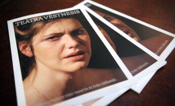 Atjaunotais 'Teātra Vēstnesis' nāk klajā 1000 eksemplāru tirāžā