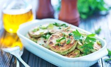 No kabaču pankūkām līdz kārtīgam sacepumam – 14 idejas maltītēm ar gardo vasaras dārzeni