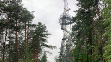 Pirmais skatu laukums Lietuvā, kas ierīkots uz mobilo telekomunikāciju antenas torņa