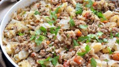Ātrie sautējumi ar malto gaļu: 15 receptes gardām ģimenes vakariņām