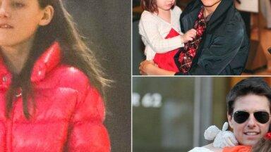 Foto: Kā izaugusi Toma Krūza gadiem nesatiktā meita Suri