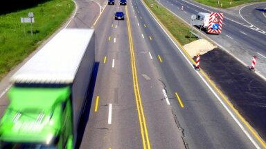 Mainīta satiksmes organizācija Jūrmalas šosejas remontdarbu posmā