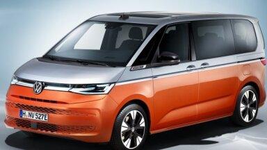 VW prezentējis jaunās paaudzes 'Multivan T7' modeli