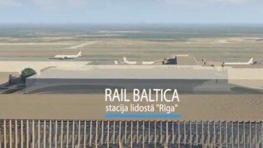 Izsludina atklātu konkursu 'Rail Baltica' stacijas būvniecības uzraudzībai