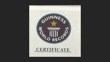 11 латвийских достижений, вошедших в Книгу рекордов Гиннеса