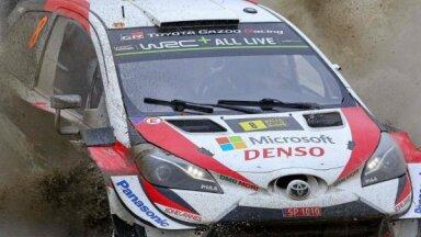 Tanaks uzvar Velsas rallijā un pietuvojas Igaunijai vēsturiskam WRC titulam