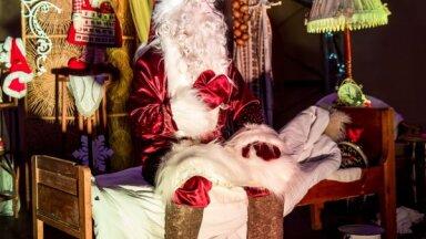ФОТО. В Даугавпилсском крае заработала деревня Деда Мороза Sniegavilla
