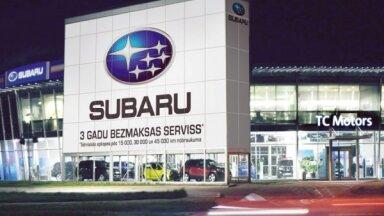 'TC Motors' kļuvis par 'Subaru' autorizēto dīleri