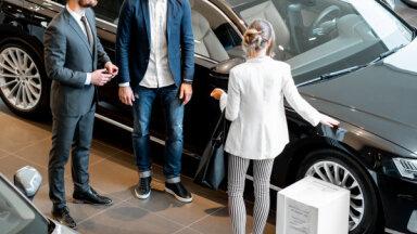 Pirmreizējā reģistrācija deviņos mēnešos Latvijā veikta par 3,2% vairāk vieglo auto