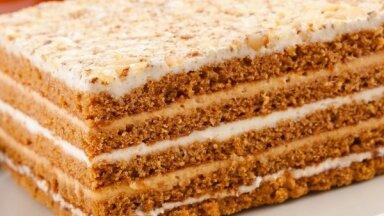 Vīramātes medus kūka