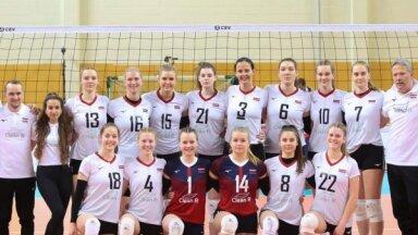 Latvijas sieviešu volejbola izlases treneris: ar sniegumu esmu apmierināts par kādiem 75%