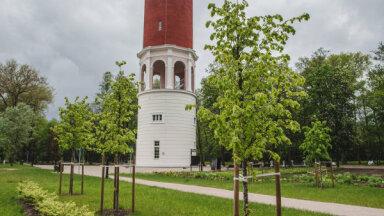 ФОТО. Как выглядит Кемерская водонапорная башня в новом обличье