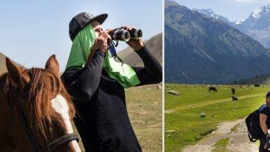 Ar riteni pa Kirgizstānu, piedzīvojot medības ar ērgli. Viestura izaicinošais ceļojums