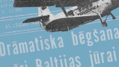 Ar 'kukuruzņiku' uz Zviedriju: kā latviešu lidotājs 1983. gadā aizbēga no Latvijas