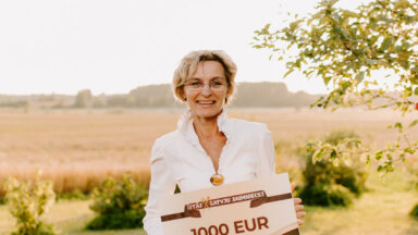 LTV šovā 'Īstās latvju saimnieces' uzvar latgaliete Viola Bīriņa