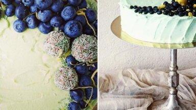 Melleņu un citronu kūka