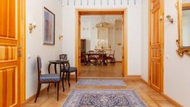 Aristokrātisks dzīvoklis mājā, kuru projektējis Mihails Eizenšteins