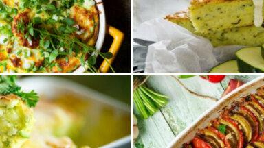 Kabaču sacepums – vasarīga maltīte uz ātru roku: 17 sulīgas receptes