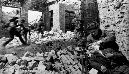 1943 год: Немецкая оккупация, Латышский легион, самолеты-призраки