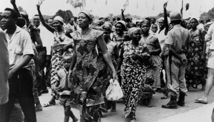1960 год: Страны Африки получают независимость, эмигрировавшие латыши пишут президенту США о свободе Латвии