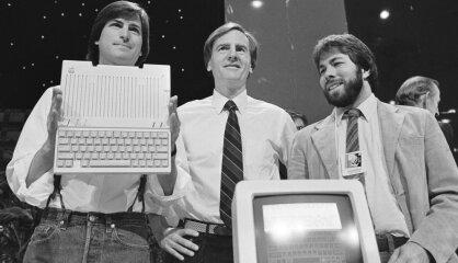 1984. gads: Iznāk pirmais 'Macintosh' dators, Latvijā uz kinoekrāniem – 'Aveņu vīns'