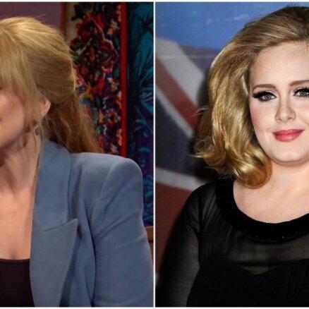 Adeles jaunākie foto žilbina – no kādreizējās apalītes vairs ne miņas