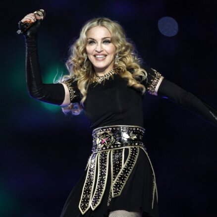 Мадонна стриптиз в нью йорке
