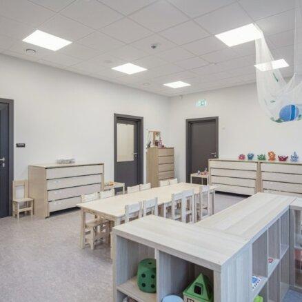 Tirdzniecības centrā 'Sāga' darbu uzsācis bērnudārzs