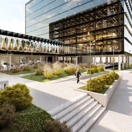 Kapitel и Merks подписали договор о строительстве офисного здания Elemental Skanste (+ФОТО)