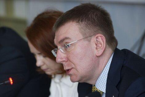 Rinkēvičs: Latvija ir iesaistīta nopietnā informatīvā kara situācijā