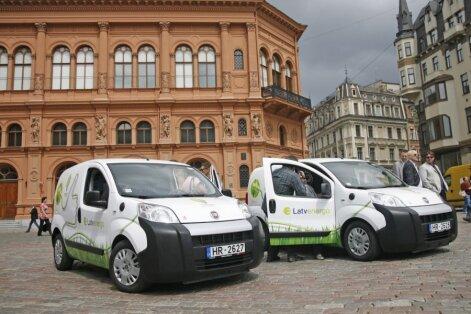 К середине будущего года в Латвии появится 70 станций для зарядки электромобилей