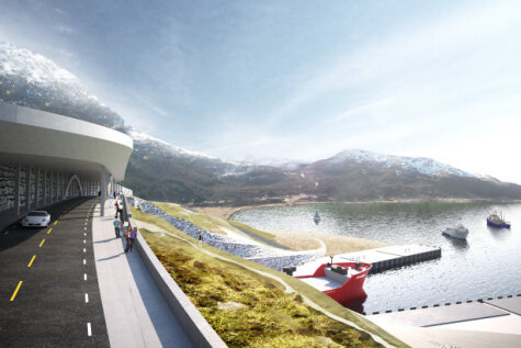 Норвегия хочет построить первый в мире туннель для кораблей (и он прекрасен)