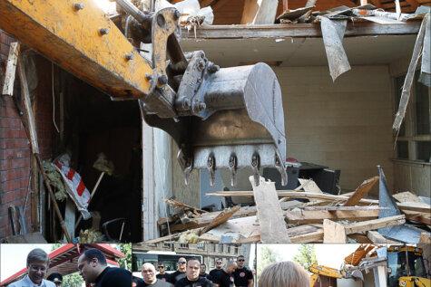 Хроника уничтожения: Как в Риге за 2936 евро снесли киоск по продаже